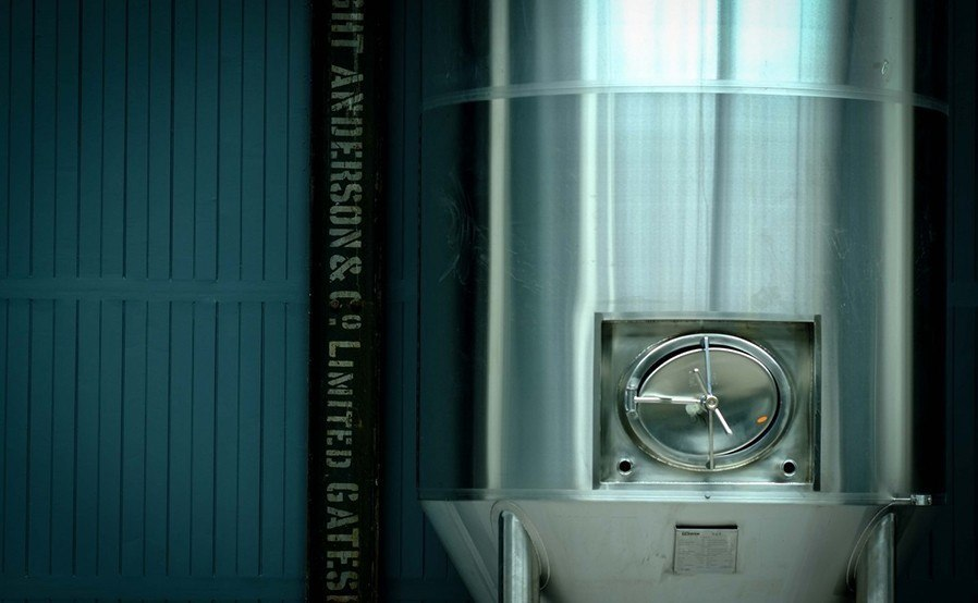 Wylam Brewery - Brewing tank
