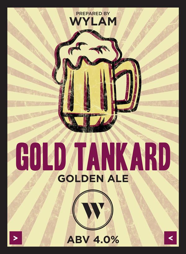 Wylam Gold Tankard